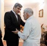 گزارش تصویری:دیدار استاندار با ماندنی صلصال نویسنده و پیشکسوت آموزش و پرورش