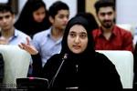 تصاویر حضور نوجوانان فعال مدنی بوشهر در همایش اندیشه پویان تدبیر و امید