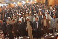 تصاویر نسیم جنوب از دیدار دکتر روحانی با نخبگان، ایثارگران و علمای بوشهر (2)