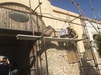 تصاویر مرمت موزه مدرسه تاریخی سعادت بوشهر