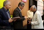 تصاویر نشست خبری مصطفی سالاری استاندار بوشهر به مناسبت روز خبرنگار