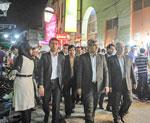 تصاویر حضور استاندار در شهرستان گناوه و دیلم به مناسبت هفته دولت