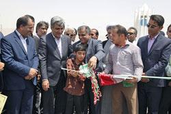 گزارش تصویری افتتاح طرح های هفته دولت تدبیر و امید در شهرستانهای دیر، کنگان، جم و عسلویه