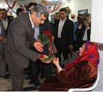 تفقد استاندار بوشهر از سالمندان + تصاویر