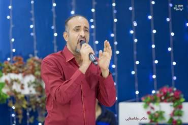 «رحیم پوردرخش» در جوار خلیج فارس از «عشق» خواند