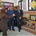 بازدید استاندار از کانون پرورش فکری کودکان و نوجوانان به مناسبت هفته کتابخوانی