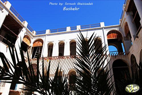 تصاویری زیبا از عمارت حاج رئیس در بوشهر