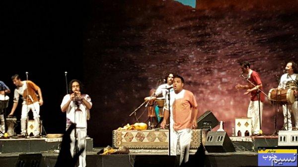 تصاویر نسیم جنوب از اجرای موسیقی محلی بوشهر در تالار وحدت