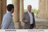 نسیم جنوب، خدمت یا تخریب شهردار بوشهر
