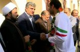 قهرمانان پارالمپیکی استان با استقبال مسئولان وارد بوشهر شدند