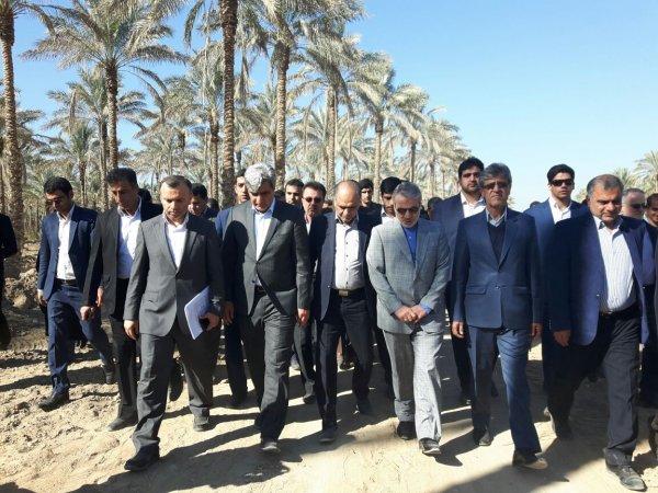 گزارش فیس بوکی دکتر سالاری استاندار بوشهر از سفر دکتر نوبخت معاون رئیس جمهور به بوشهر