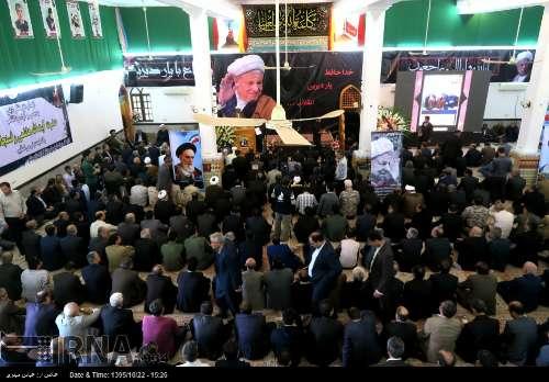 تصاویر آئین یادبود آیت الله هاشمی رفسنجانی در بوشهر