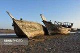 گورستان لنج ها یا جهاز ها در بوشهر